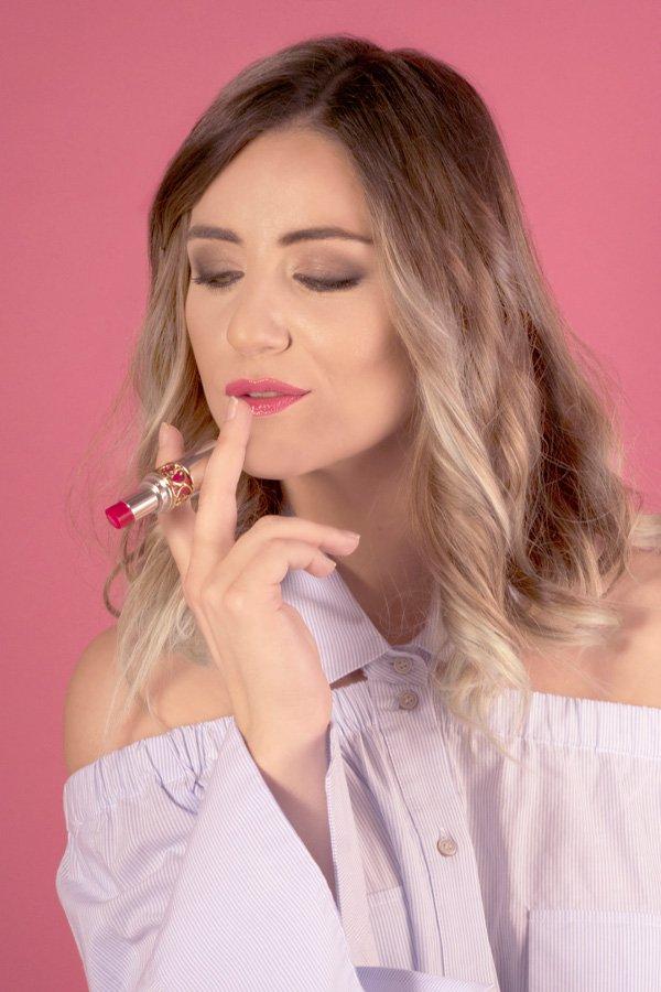 YSL lancio campagna web 2017 rossetto e couture