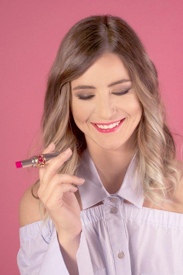 YSL rossetto e couture lancio campagna web 2017