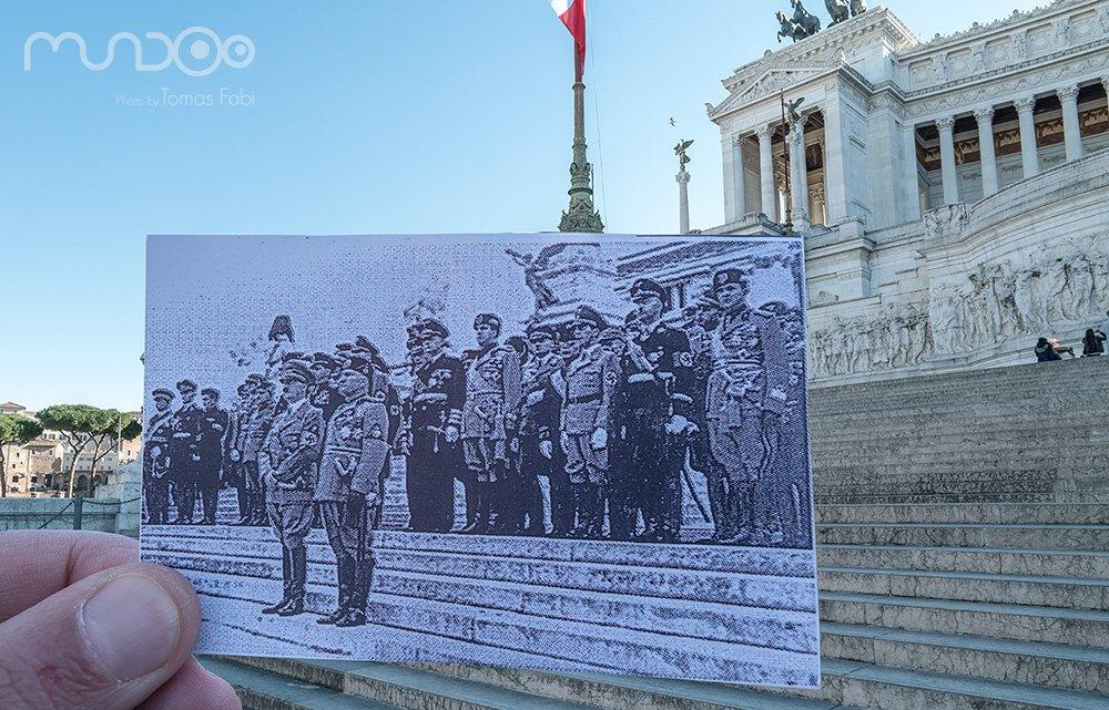 Hitler e Mussolini 1938