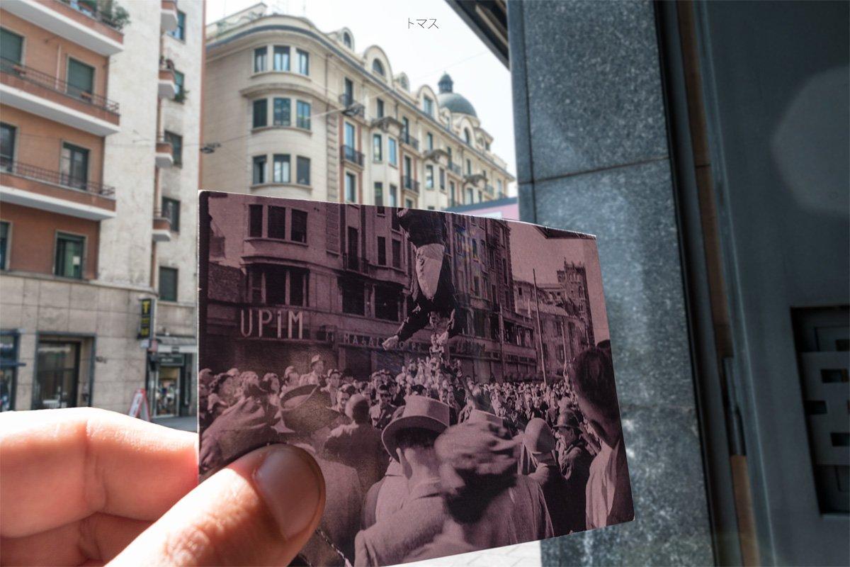 cadavere Mussolini Milano 29/04/1945 ore 11.00