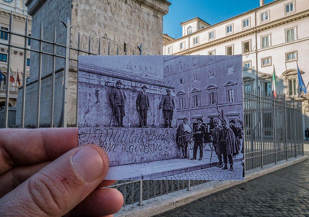 Protesta Piazza Colonna 1921