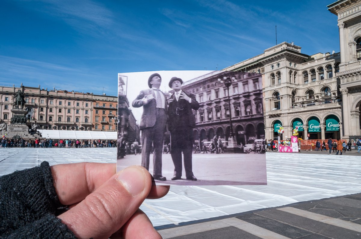 Totò, Peppino e la malafemmina 1956 Milano