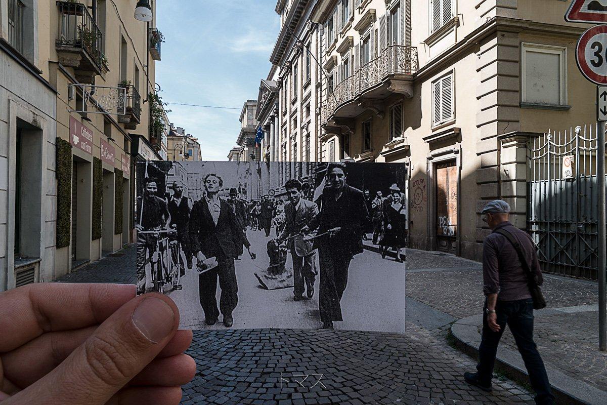25 Luglio 1943 via Corte D'Appello, Torino
